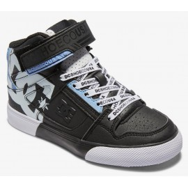 DC Shoes Junior Pure High Top SE Black White