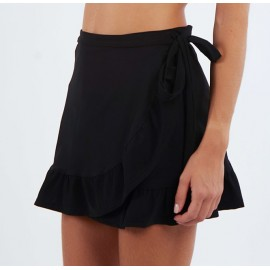 BANANA MOON Loffi Lycra Pareo Skirt Black