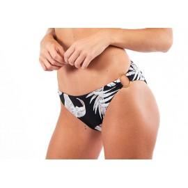 BANANA MOON Vaiva Leaf Bikini Bottom Black