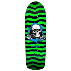 Powell Peralta OG Ripper Skateboard Deck Green 10""