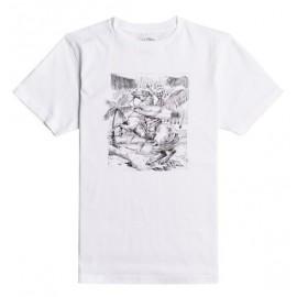 Tee Shirt Junior BILLABONG Hell Ride White