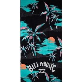 Beach Towel BILLABONG Waves Towel Black