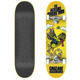 Cruzade The Incredible Farting Man 8.25″ Complete Skateboard