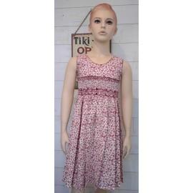 ROZENN Hand Embroidered Hand Embroidered Junior Dress