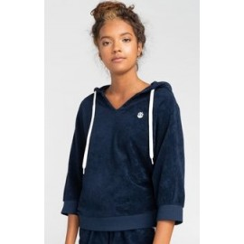Sweat à Capuche Femme ELEMENT Deva Indigo