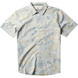 VISSLA Men's Shirt Sumbawa Eco Woven Mellow Yellow