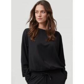 O'NEILL Essential Structure Powder Black Women's Crew Sweatshirt