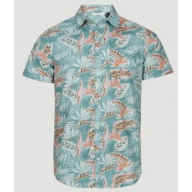 Chemise Manches Courtes O'NEILL Tropix Red