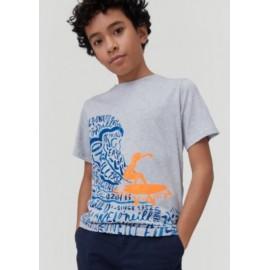 Tee Shirt Junior O'NEILL Surfer Light Gray melange