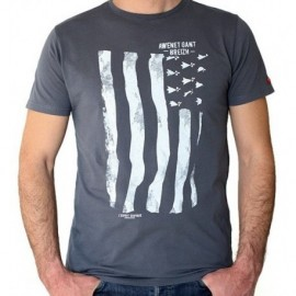 Tee Shirt STERED Flag Gwenn ha Lead