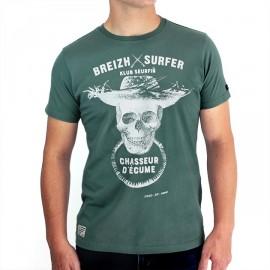 STERED Breizh Surfer Green Tee Shirt