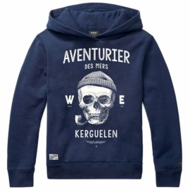 Hooded Sweatshirt Stered Aventuriers des Mers Navy