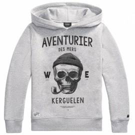 Hooded Sweatshirt Stered chine Adventurer