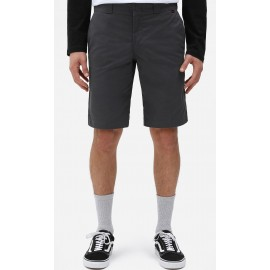 Dickies Slim Straight Flex Walkshort Charcoal Grey