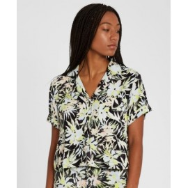 VOLCOM Cant Be Tamed Lime Women's Shirt
