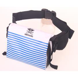 Waterproof Banana Bag Surfpistols 3L Mariniere White