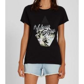 VOLCOM Radical Daze Black Women's Tee Shirt