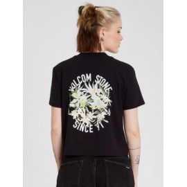 Tee Shirt Femme VOLCOM Pocket Dial Black