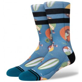 Chaussettes STANCE Monkey Chillin Teal