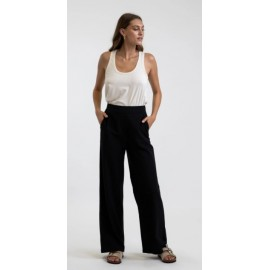 RHYTHM Classic Wide Leg Black Women's Pants