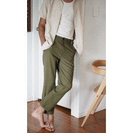 Pantalon Homme RHYTHM Classic Fatigue Olive