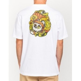 Tee Shirt Man ELEMENT Timber The Vision Optic White