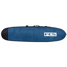 FCS Classic Surf Cover Longboard 9'2 Steel Blue White