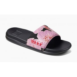 REEF One Slide Purple Blossom Sandal