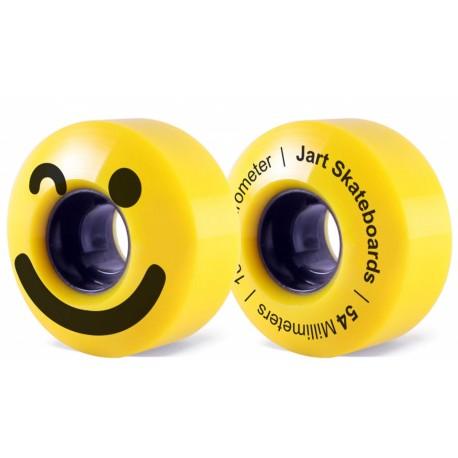 Jart Be Happy 54mm 101A Skateboard Wheels Pack