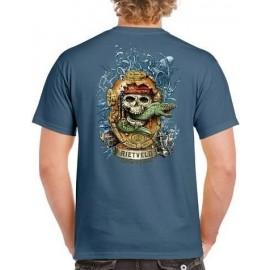 Tee Shirt Homme RIETVELD Davy Jonezer Indigo