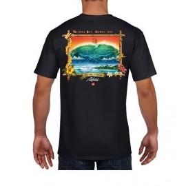 RIETVELD Men's T-Shirt Noll VS Neptune Black