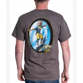 Tee Shirt Homme RIETVELD Surfing All Charcoal