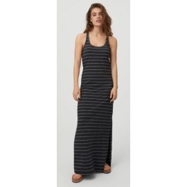 Long Dress O'NEILL Foundation Striped Black With White