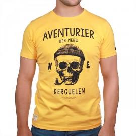Men's Tee Shirt Stered Aventurier Des Mers Yellow