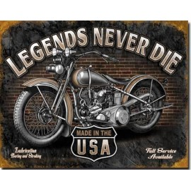 Plaque Legend Never Die