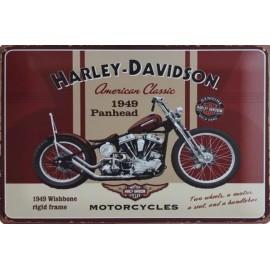 Harley Davidson Plate