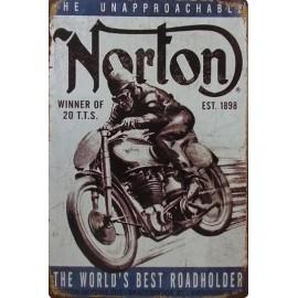 Plaque Norton Race