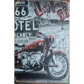 Plaque Love Road 66