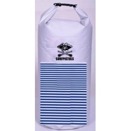 Surf Pistols Waterproof Bag Mariniere White 40 L