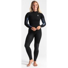 C-Skins Women Solace 3/2mm Black Unity Denim Wetsuit