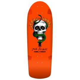 "Plateau Powell Peralta Mcgill Skull & Snake Orange 10.0"""