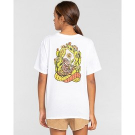 Tee Shirt Femme ELEMENT Timber! Pick Your Poison Optic White