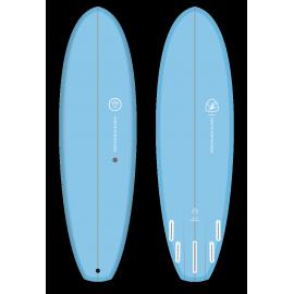 Venon Surfboard Quokka Pastel Blue 6'4