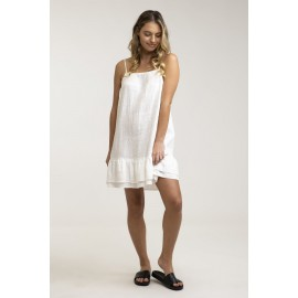 RHYTHM Isla White Dress