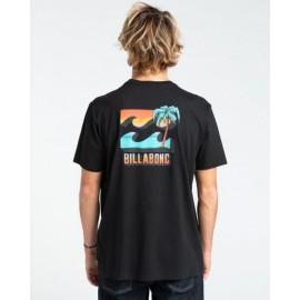 Men's Tee Shirt BILLABONG BBTV Black