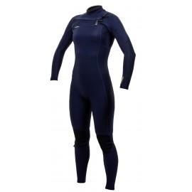 O'Neill Wetsuit Hyperfreak Women Fuze Front Zip 4/3+mm Abyss Abyss