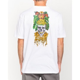 Tee Shirt Man ELEMENT Spectral L'Amour Supreme Optic White