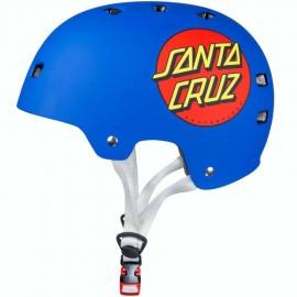 Casque Bullet Santa Cruz Classic Dot Blue