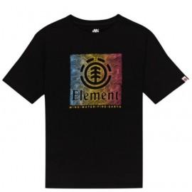 Tee shirt Junior ELEMENT Cusic Flint Black