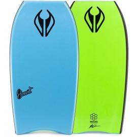 "Bodyboard NMD Element PE HD 38"" Aqua Fluro Green"